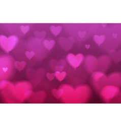 Abstract disco background valentine heart vector image