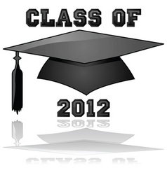 class of 2012 vector image