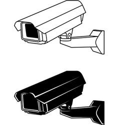 security camera 2 vector image