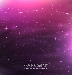 Universe stars template vector
