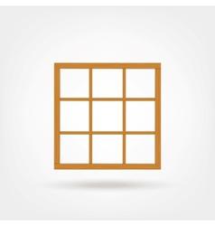 Wooden Cabinet Design vector image