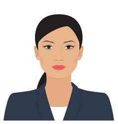 Asian business woman vector