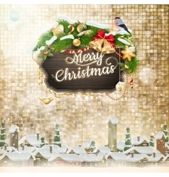 Christmas greeting card eps 10 vector
