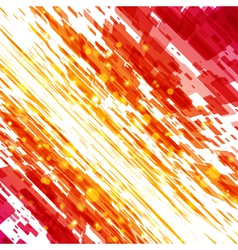 abstract techno lines background vector image vector image