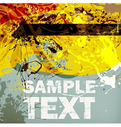 Grunge Background for Design vector image vector image