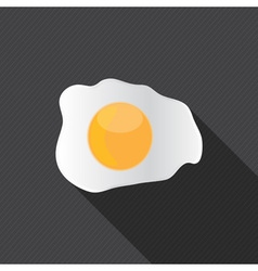 Scrambled egg fried egg vector