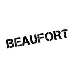 Beaufort rubber stamp vector image