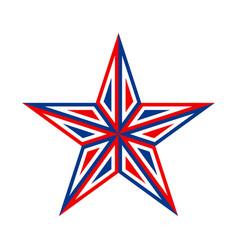 America star icon vector