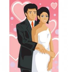 wedding vector image