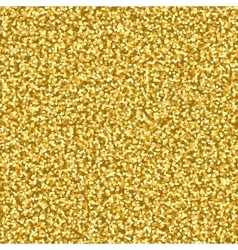 Abstract seamless pattern with glitter golden vector image