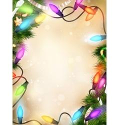 Christmas defocused light eps 10 vector