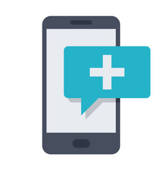 mhealth icon vector image