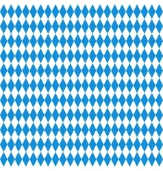 Oktoberfest checkered background vector image vector image
