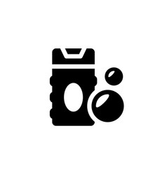 Shower gel icon vector