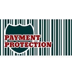 Buyer protection internet payments security vector