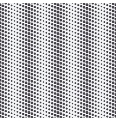 diagonal dots monochrome pattern vector image vector image