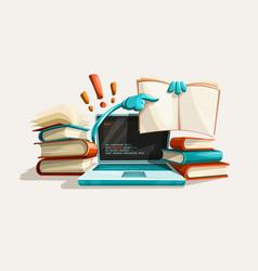 Modern computer technologies vector