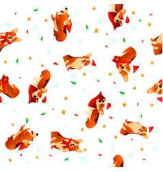 New year texture vector