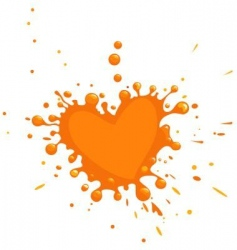 paint drops vector image