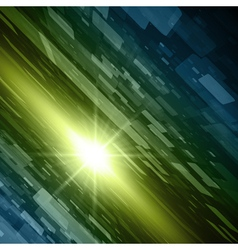 Virtual technology space background vector