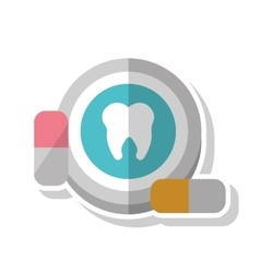 Dental medical and health care design vector