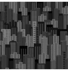 Night city background urban landscape vector