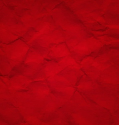 Red Crushed Paper vector image