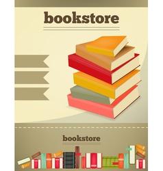 Bookstore vert vector