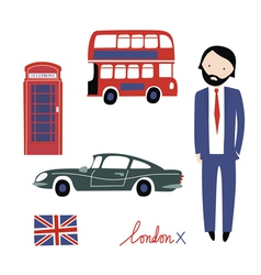 London clipart vector image vector image