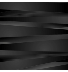 Black stripes background vector image