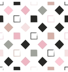 Seamless universal pattern squares and diamonds vector