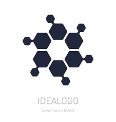 Abstract logo logotype design element or icon vector