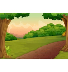 Country path vector
