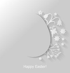 egg cut vector image vector image