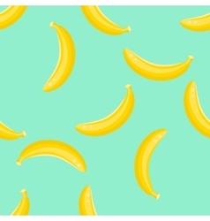 Banana fruit pattern vector image vector image