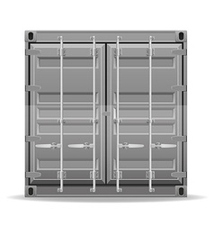cargo container 005 vector image vector image