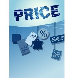 price labels vector image vector image