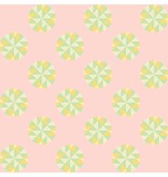 sweet dot pattern vector image