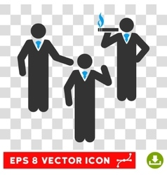 Discuss persons eps icon vector