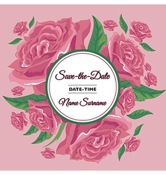 background rose 01 vector image vector image