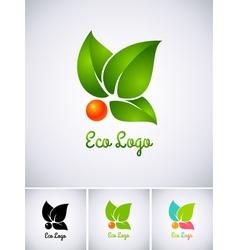 berry logo vector image