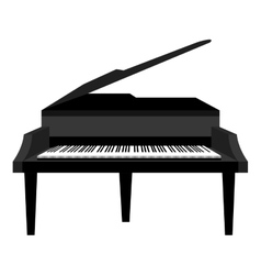Piano music instrument icon design vector image vector image