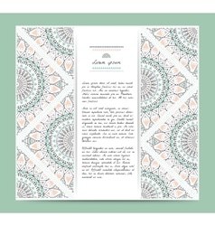 Set of romantic circular greeting gentlecards and vector