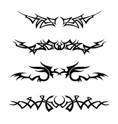 Tribal Set vector image vector image