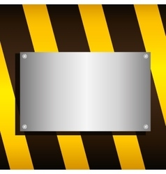 Barrier road sign design vector