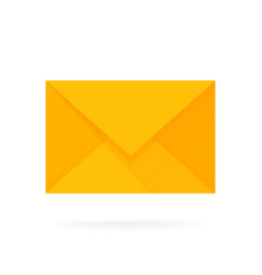 Mail envelope icon email send concept vector
