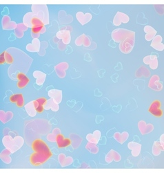 Valentine heart tornado EPS 10 vector image