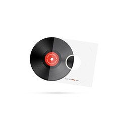 Vinyl record disc vector