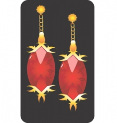 Golden earnings vector