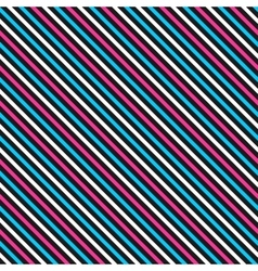 Color striped seamless pattern vector